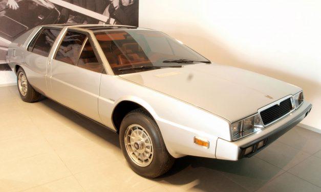 L'antenata perduta: Maserati Quattroporte Medici