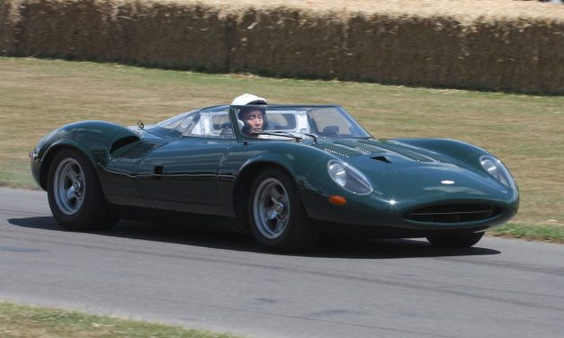 Glorie inglesi: la Jaguar XJ13
