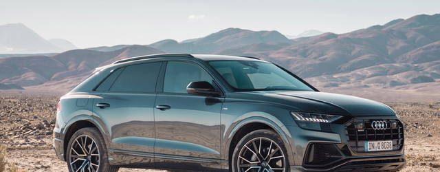 Audi Q8 design