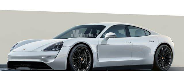 Porsche Taycan elettrica